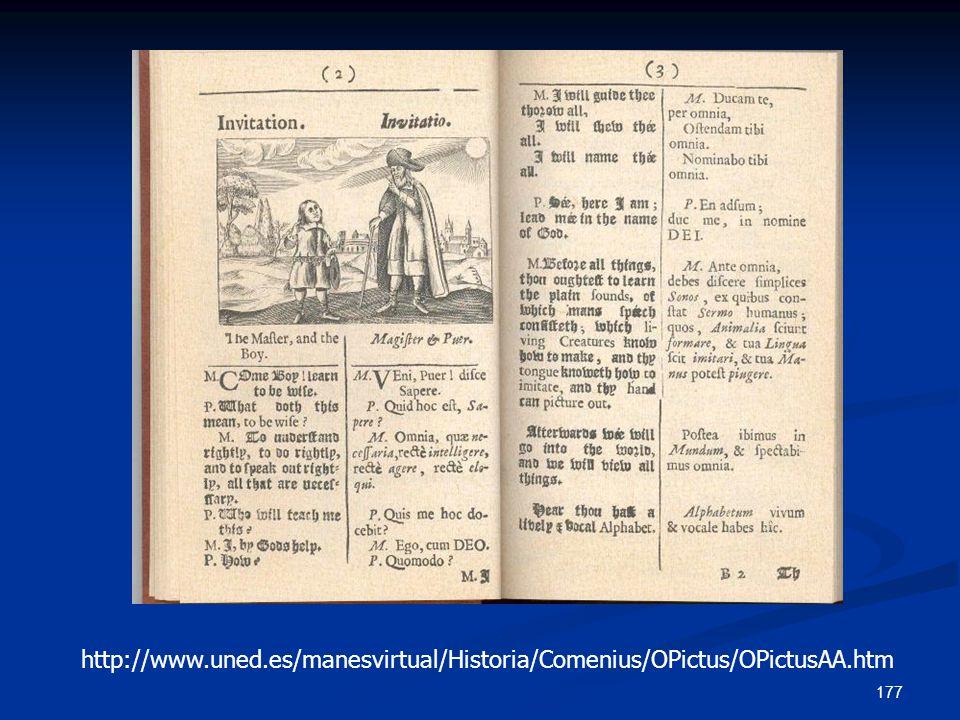 http://www. uned. es/manesvirtual/Historia/Comenius/OPictus/OPictusAA