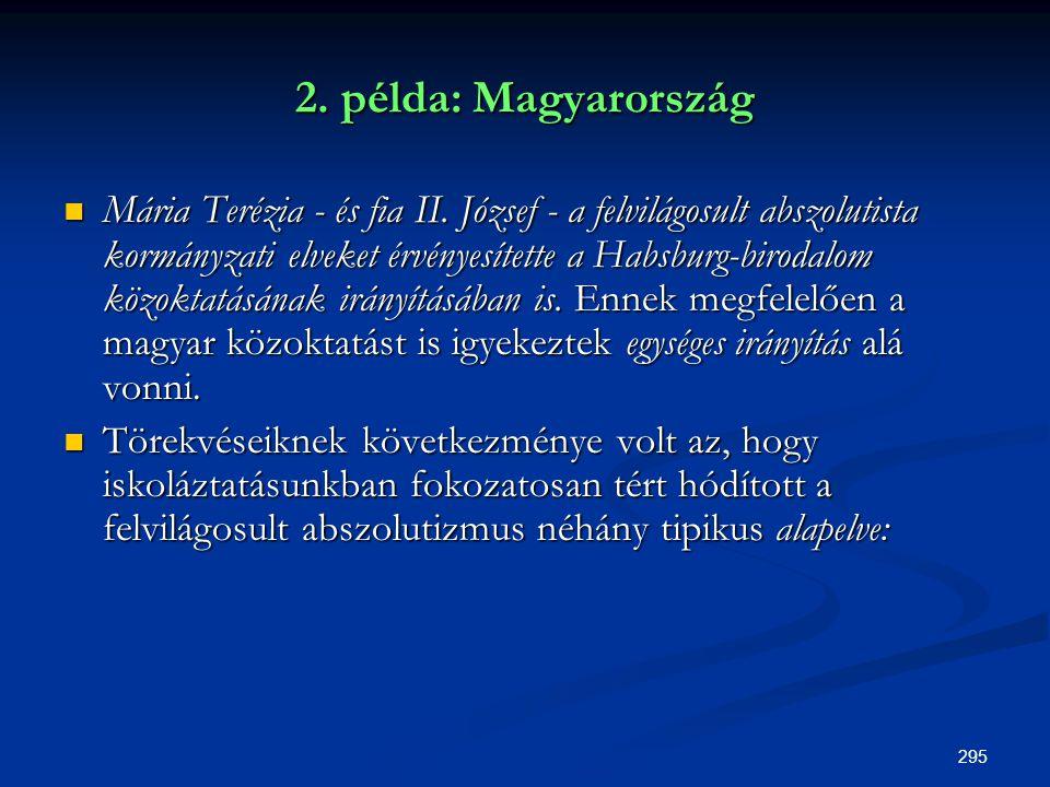 2. példa: Magyarország
