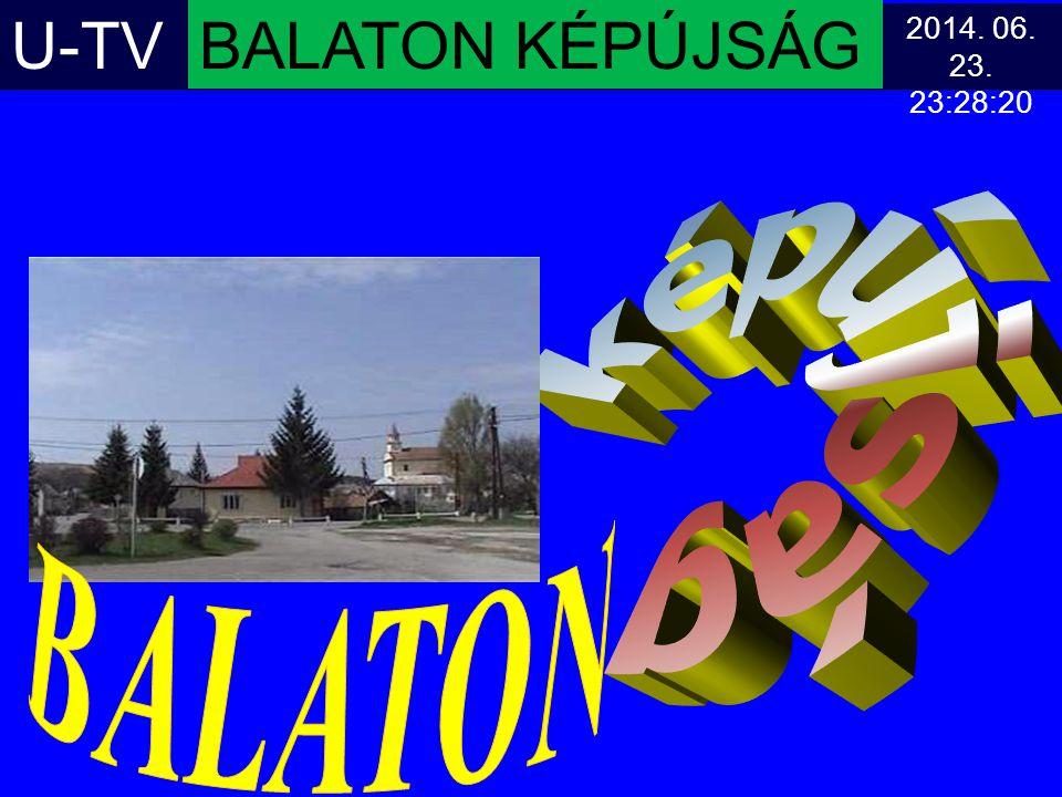 U-TV BALATON KÉPÚJSÁG képújság BALATON