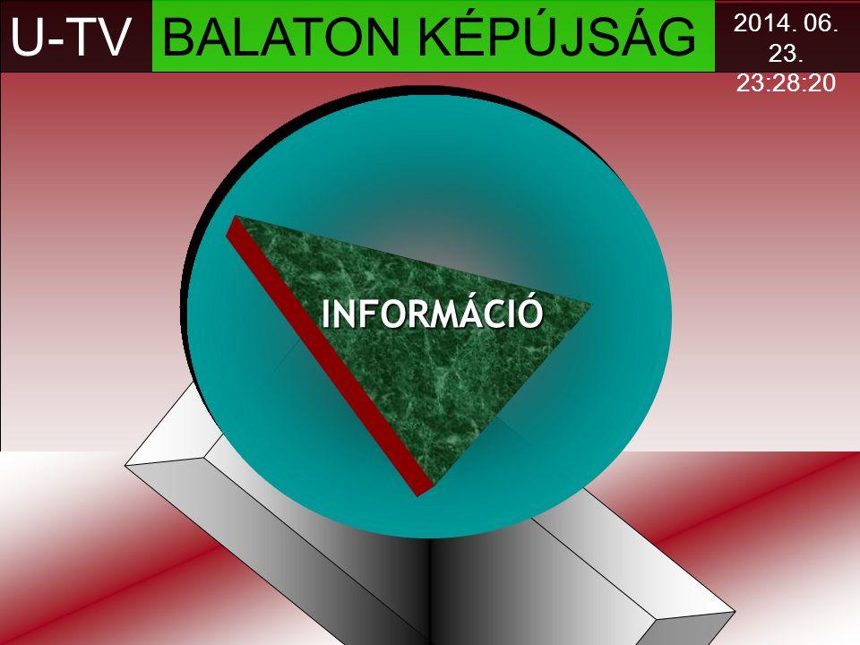 U-TV BALATON KÉPÚJSÁG INFORMÁCIÓ