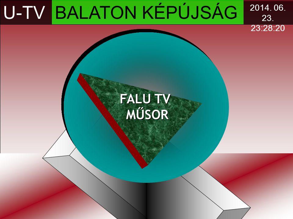 U-TV BALATON KÉPÚJSÁG FALU TV MŰSOR