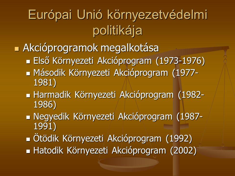 Európai Unió környezetvédelmi politikája