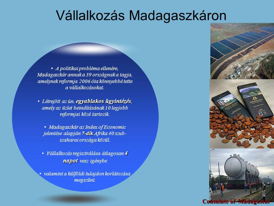 Vállalkozás Madagaszkáron