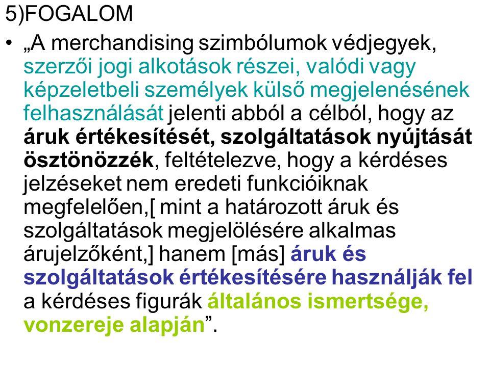 5)FOGALOM