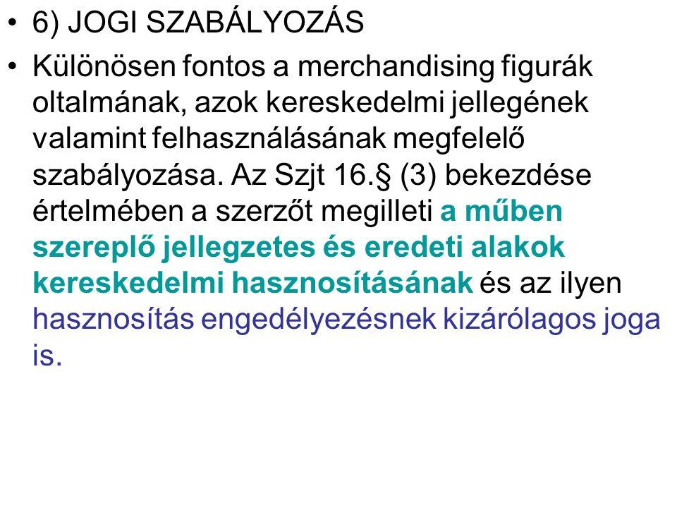 6) JOGI SZABÁLYOZÁS