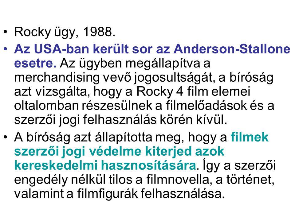Rocky ügy, 1988.