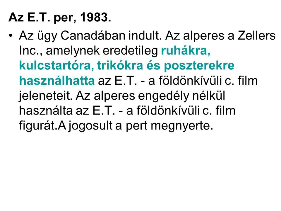 Az E.T. per, 1983.
