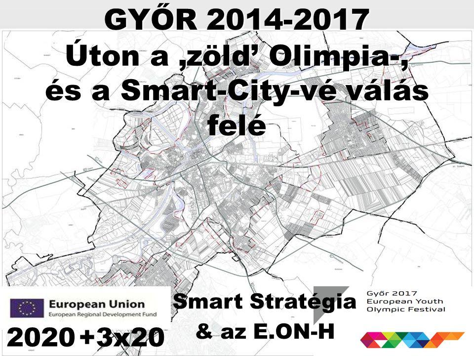 Úton a 'zöld' Olimpia-, és a Smart-City-vé válás felé