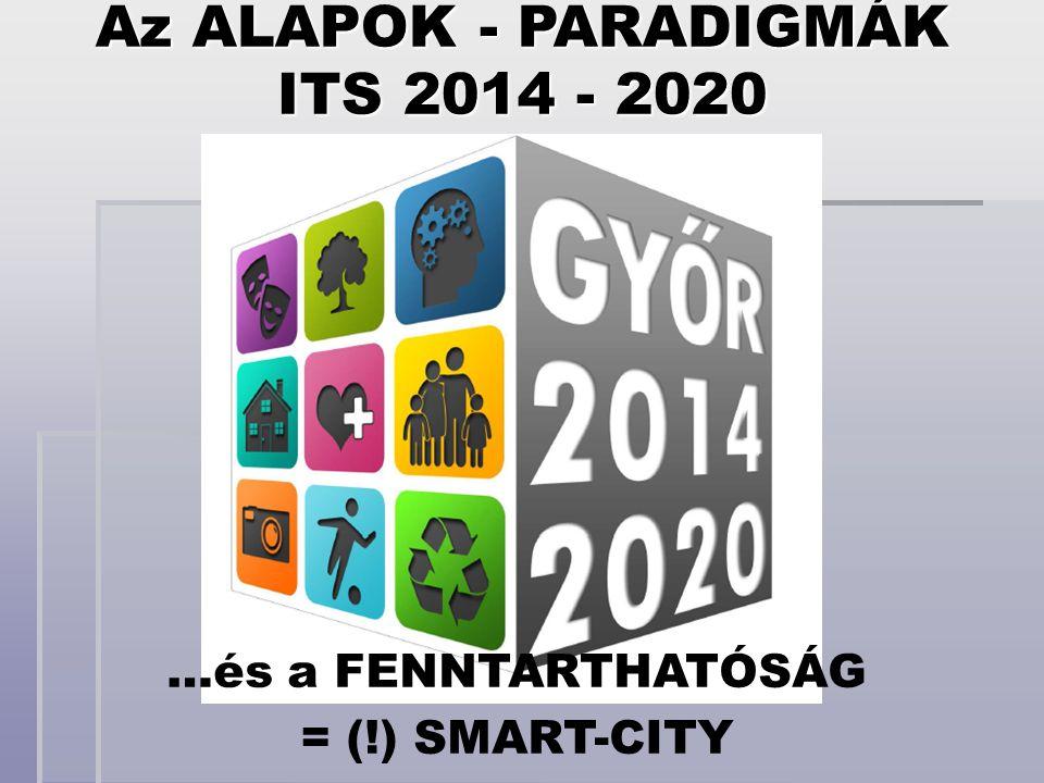 Az ALAPOK - PARADIGMÁK ITS 2014 - 2020
