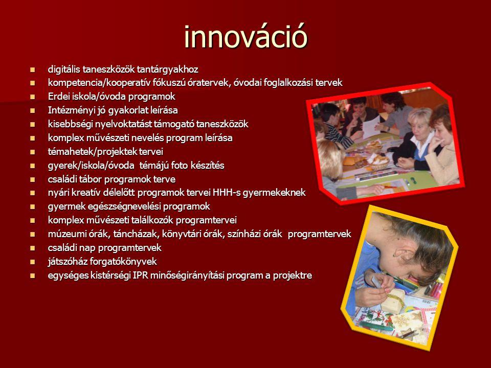 innováció digitális taneszközök tantárgyakhoz