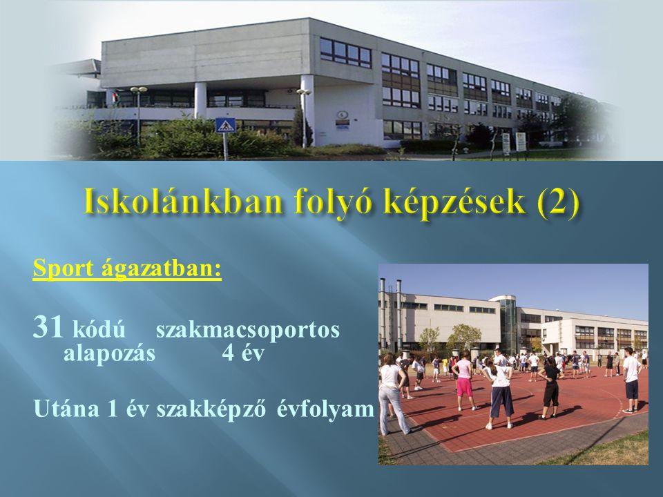 Iskolánkban folyó képzések (2)