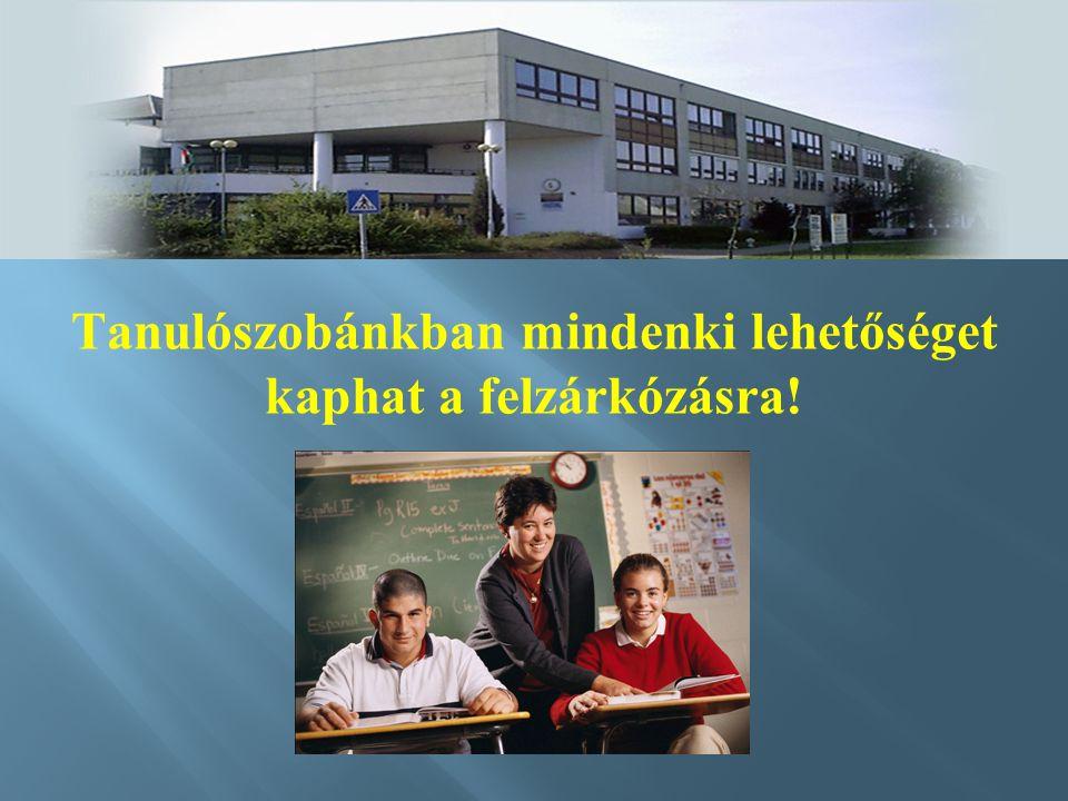 Tanulószobánkban mindenki lehetőséget kaphat a felzárkózásra!