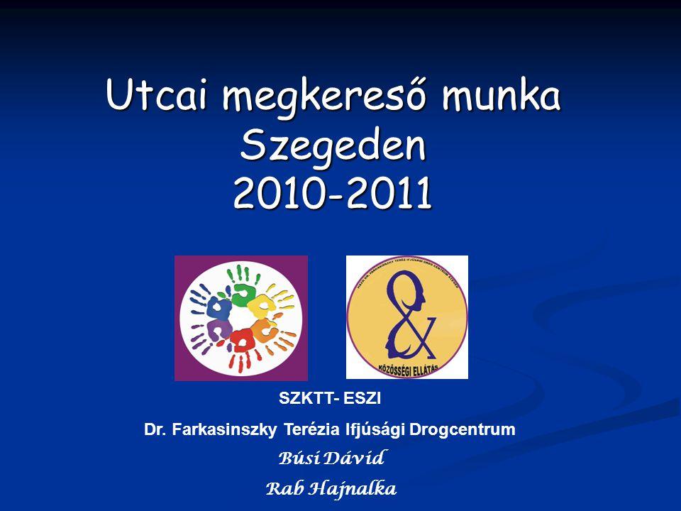 Utcai megkereső munka Szegeden 2010-2011