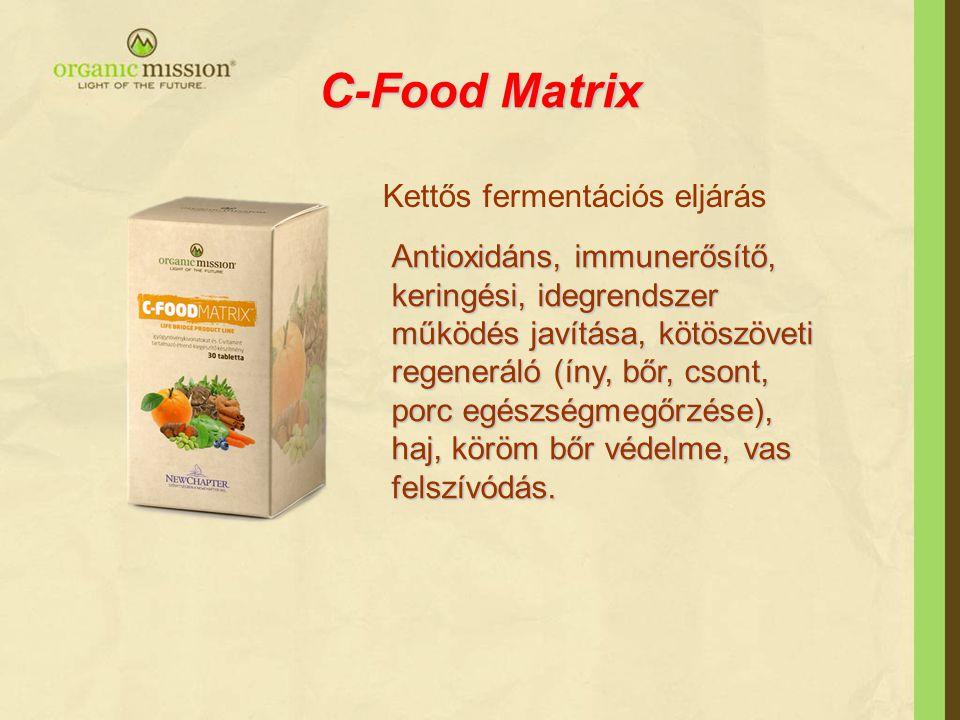 C-Food Matrix Kettős fermentációs eljárás