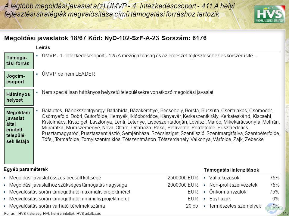Megoldási javaslatok 19/67 Kód: NyD-102-SzF-A-24 Sorszám: 6193