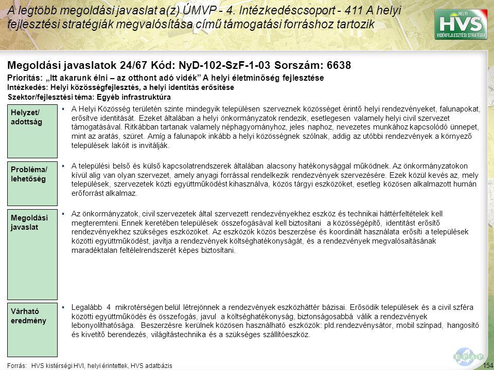 Megoldási javaslatok 24/67 Kód: NyD-102-SzF-1-03 Sorszám: 6638