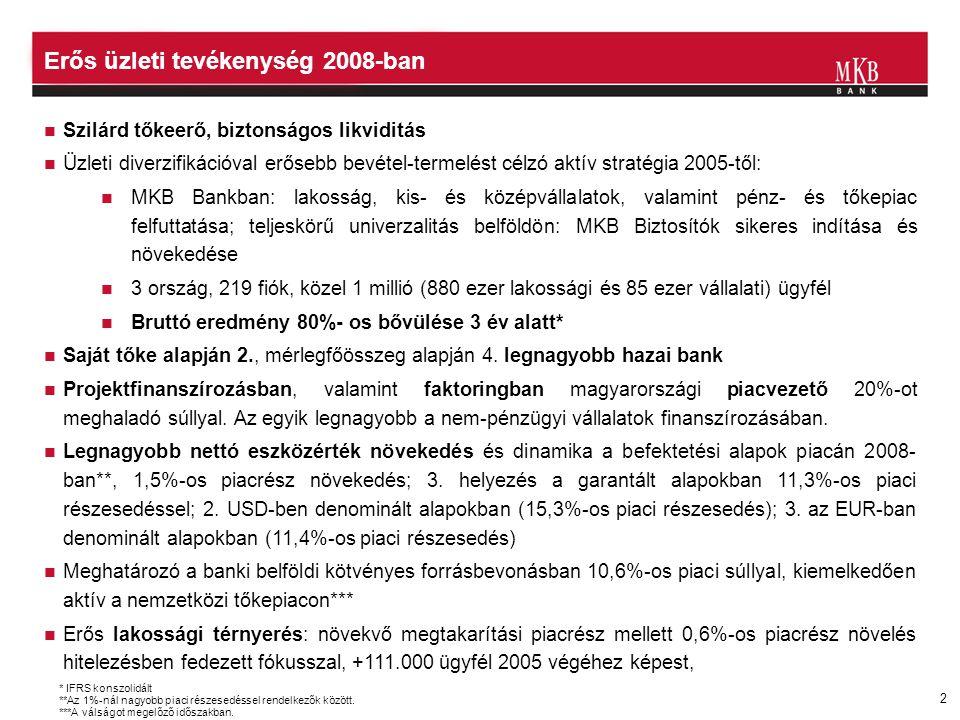 Erős üzleti tevékenység 2008-ban