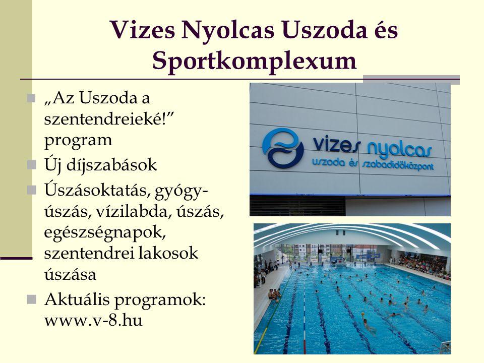 Vizes Nyolcas Uszoda és Sportkomplexum