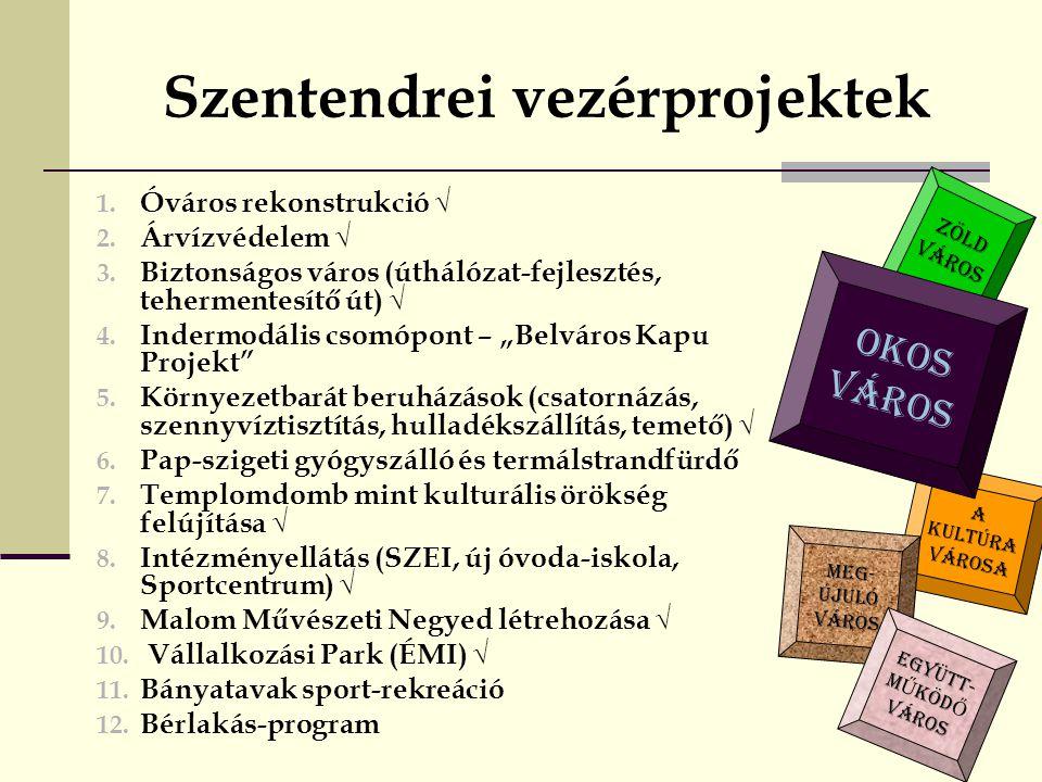 Szentendrei vezérprojektek