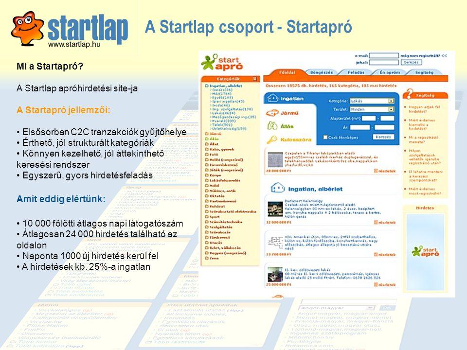 A Startlap csoport - Startapró