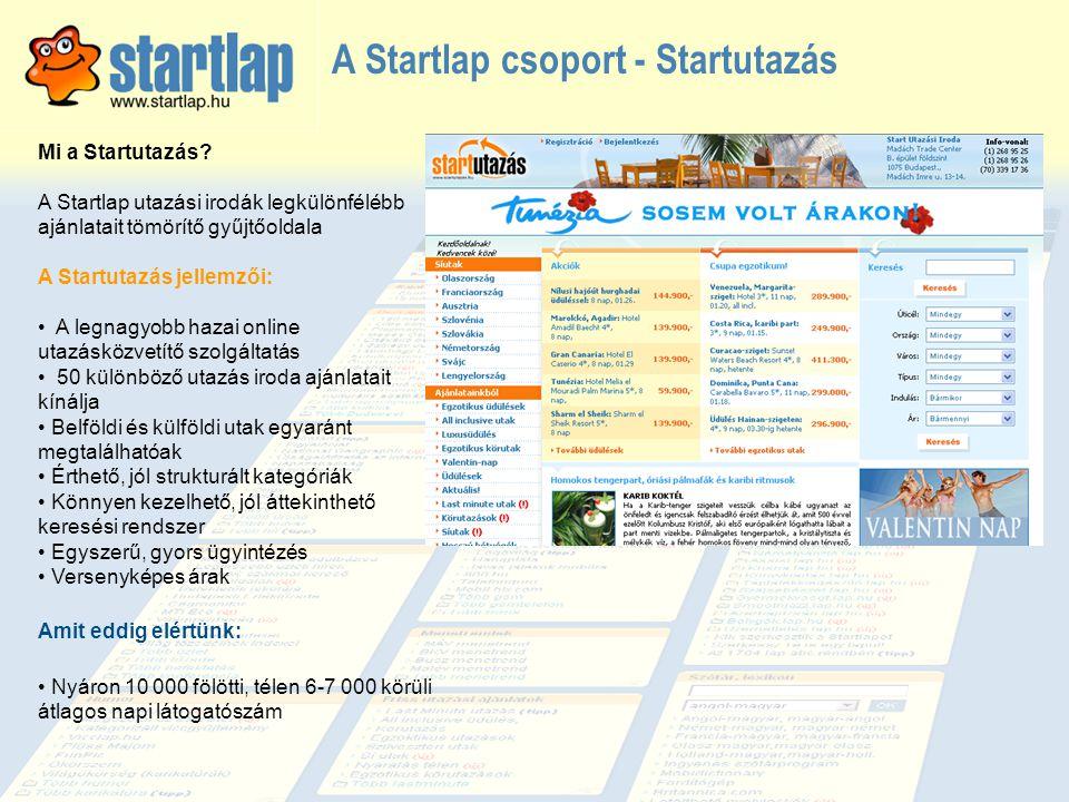 A Startlap csoport - Startutazás