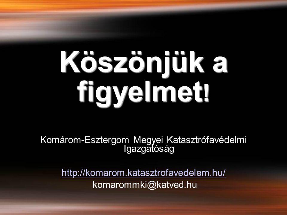 Komárom-Esztergom Megyei Katasztrófavédelmi Igazgatóság