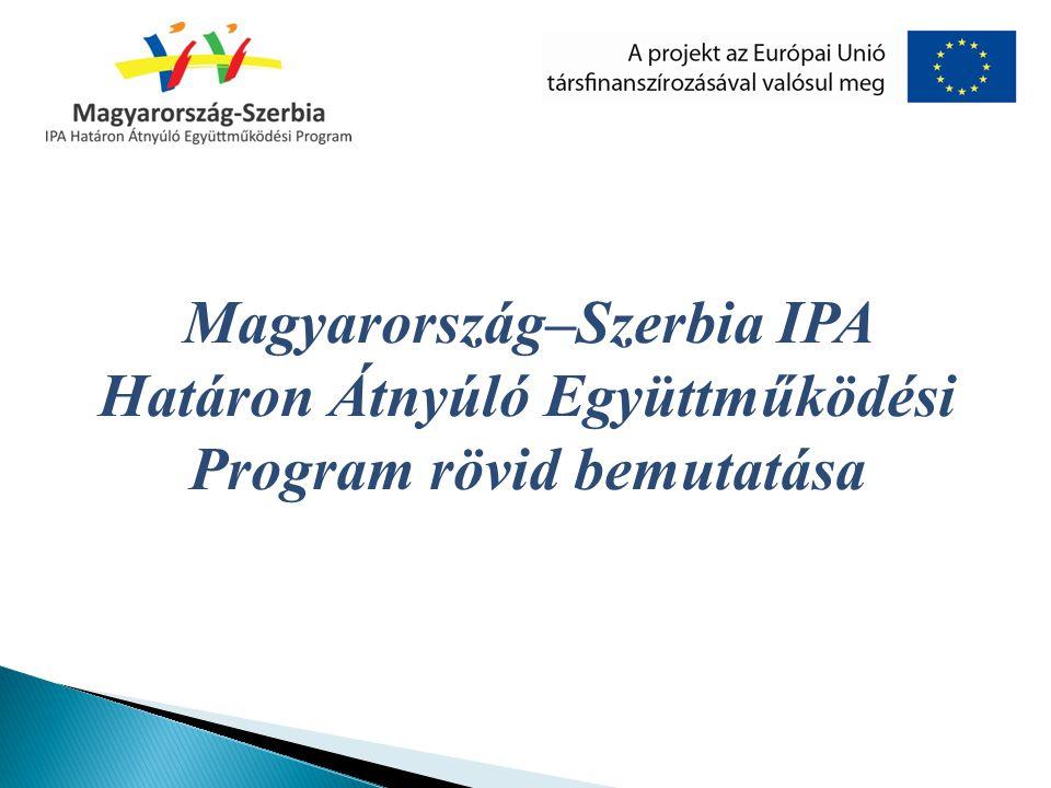Magyarország–Szerbia IPA Határon Átnyúló Együttműködési