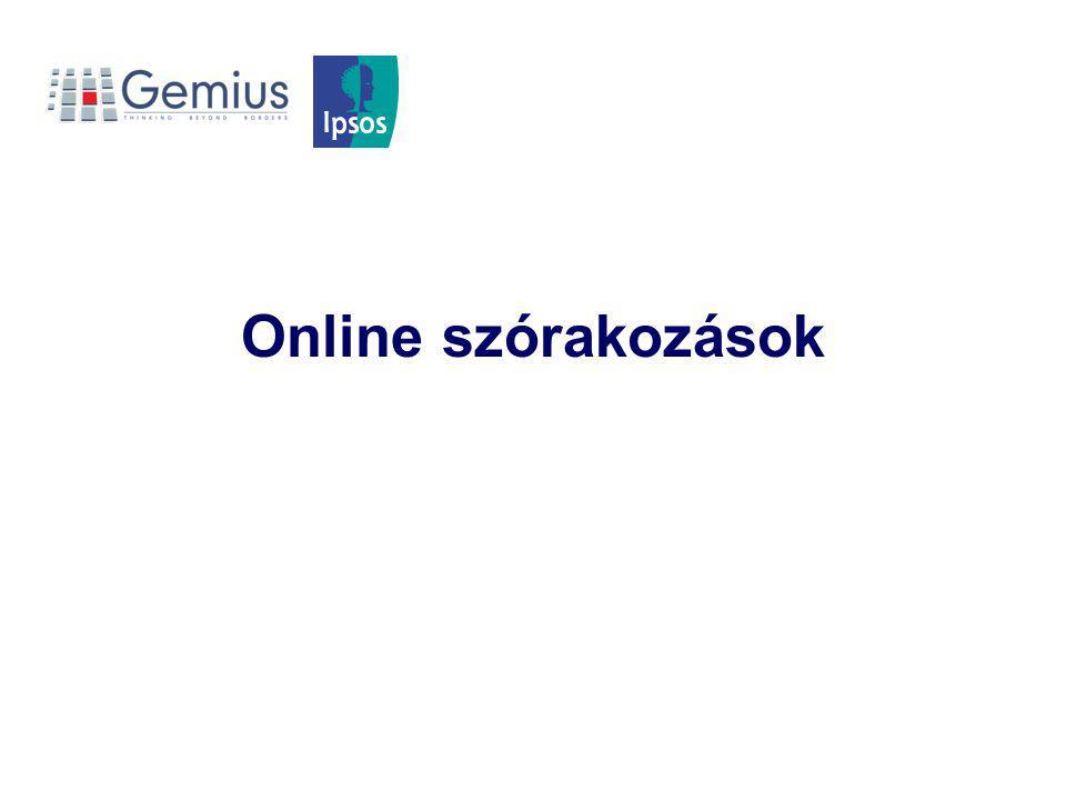 Online szórakozások