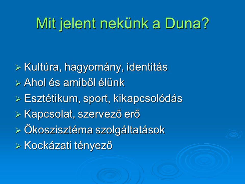 Mit jelent nekünk a Duna
