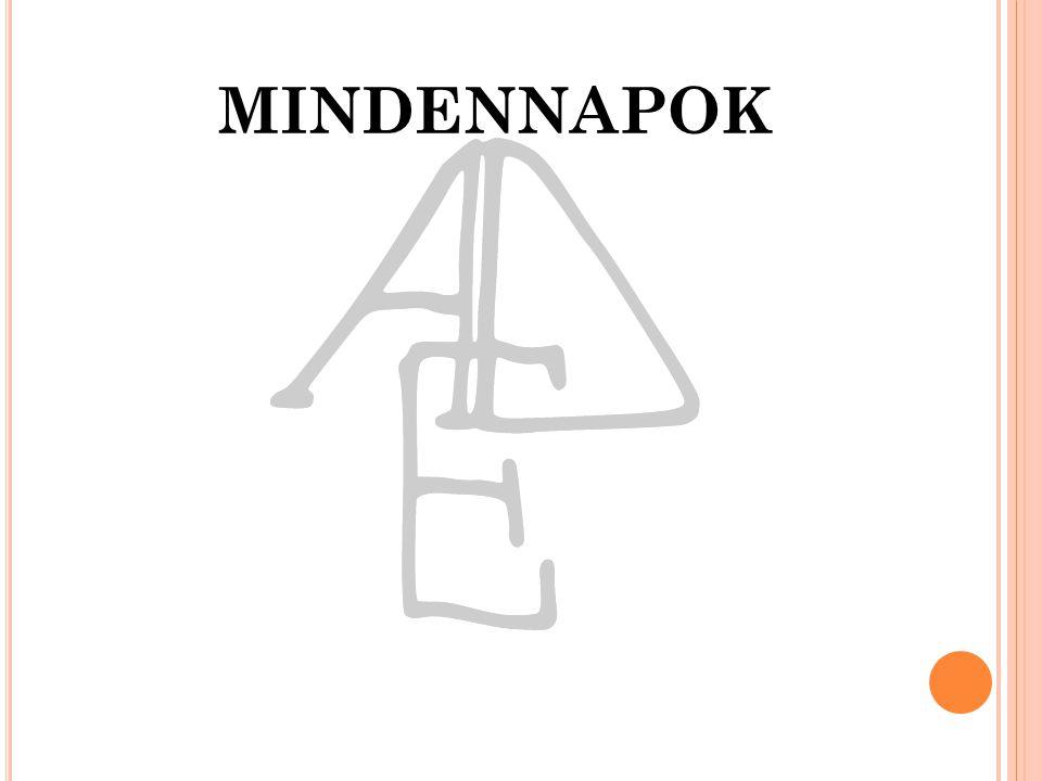 MINDENNAPOK