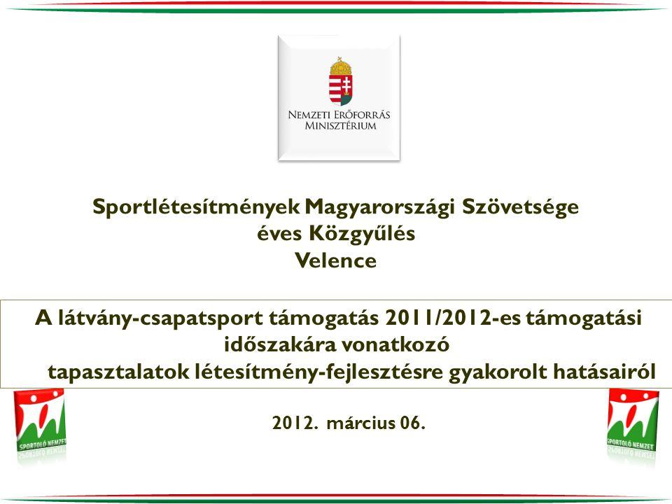 Sportlétesítmények Magyarországi Szövetsége éves Közgyűlés Velence