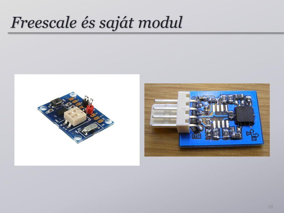 Freescale és saját modul