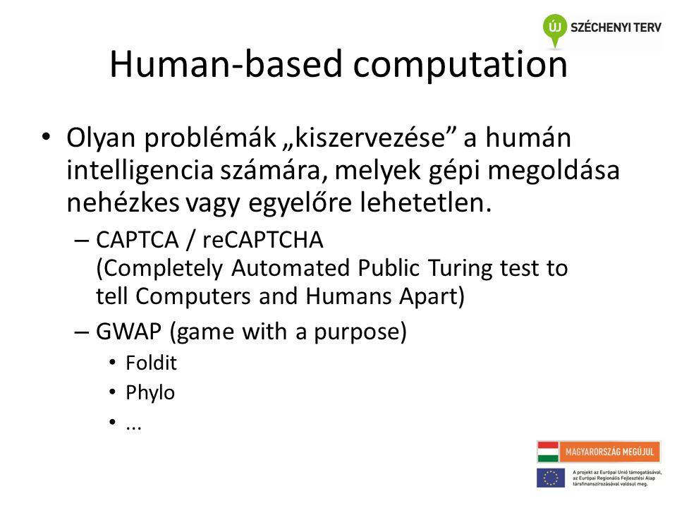 Human-based computation