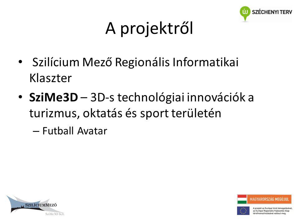 A projektről Szilícium Mező Regionális Informatikai Klaszter