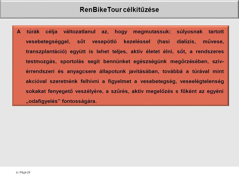 RenBikeTour célkitűzése