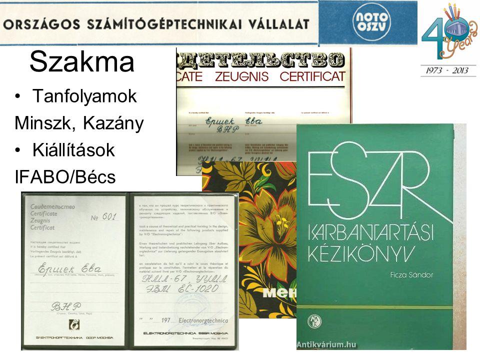 Szakma Tanfolyamok Minszk, Kazány Kiállítások IFABO/Bécs