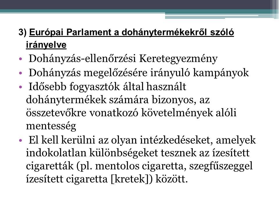 Dohányzás-ellenőrzési Keretegyezmény