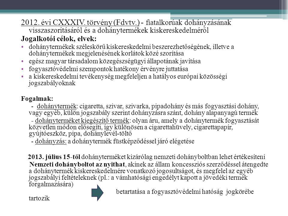2012. évi CXXXIV. törvény (Fdvtv