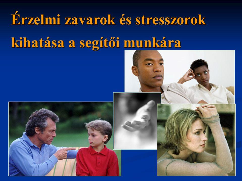 Érzelmi zavarok és stresszorok