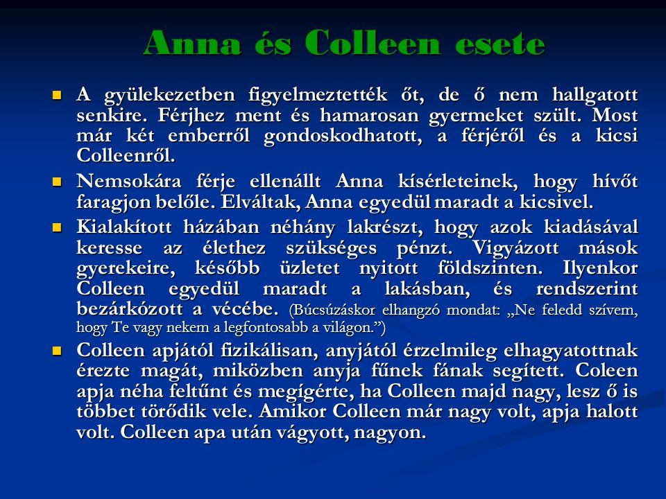 Anna és Colleen esete