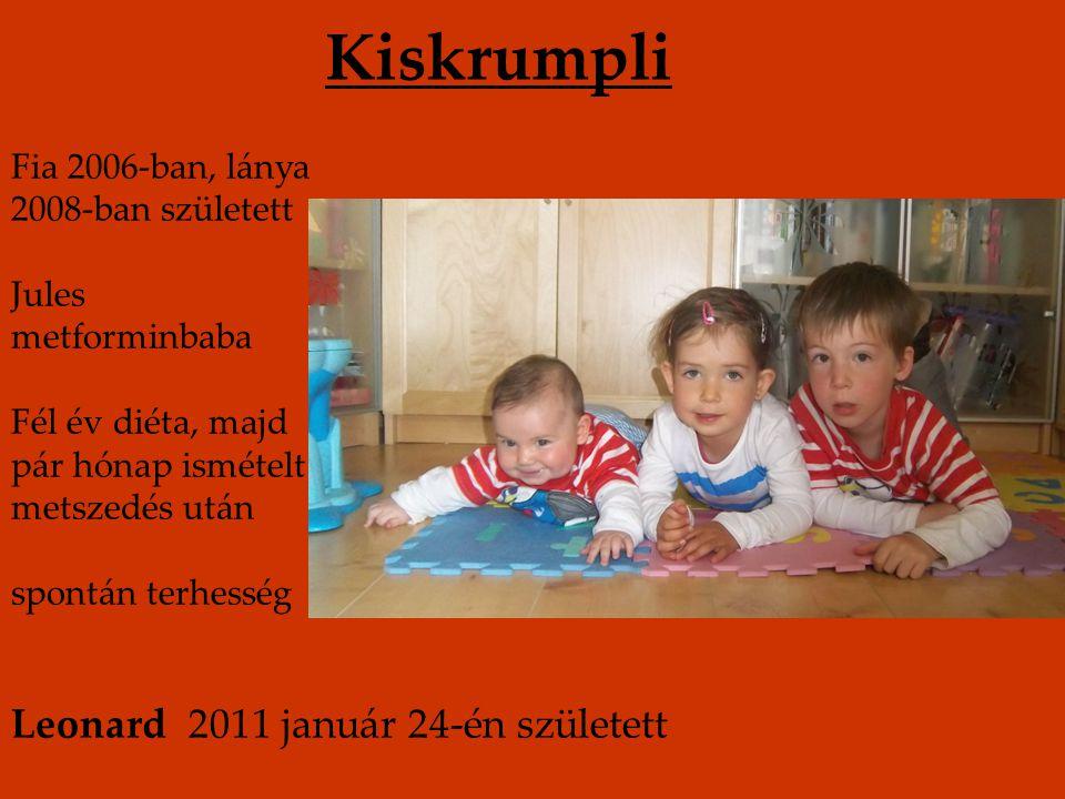Kiskrumpli Leonard 2011 január 24-én született