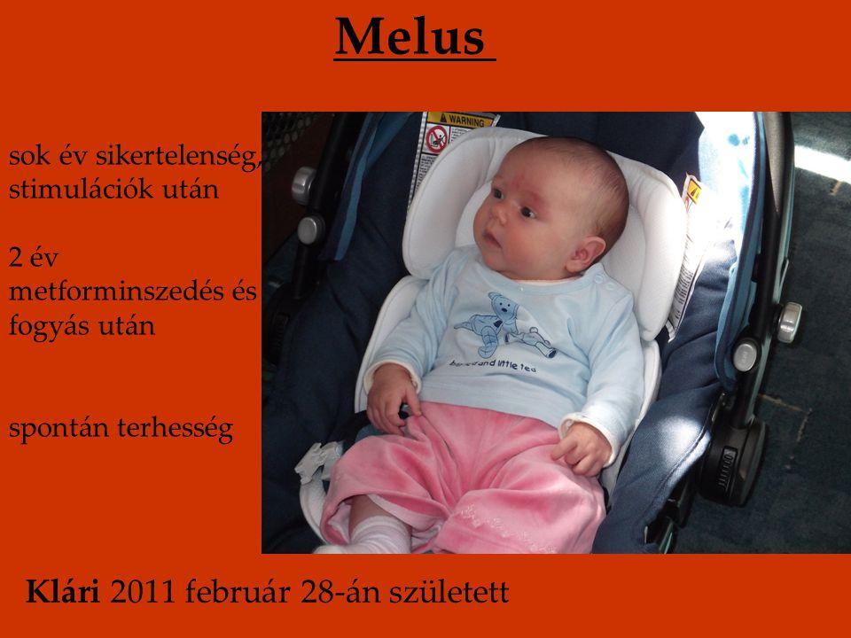 Melus Klári 2011 február 28-án született