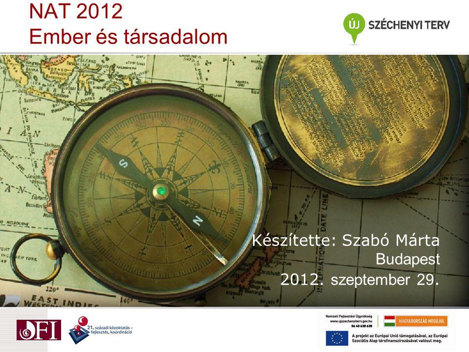 NAT 2012 Ember és társadalom
