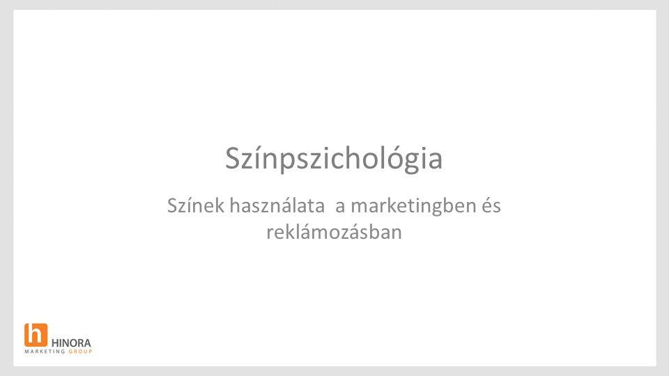 Színek használata a marketingben és reklámozásban