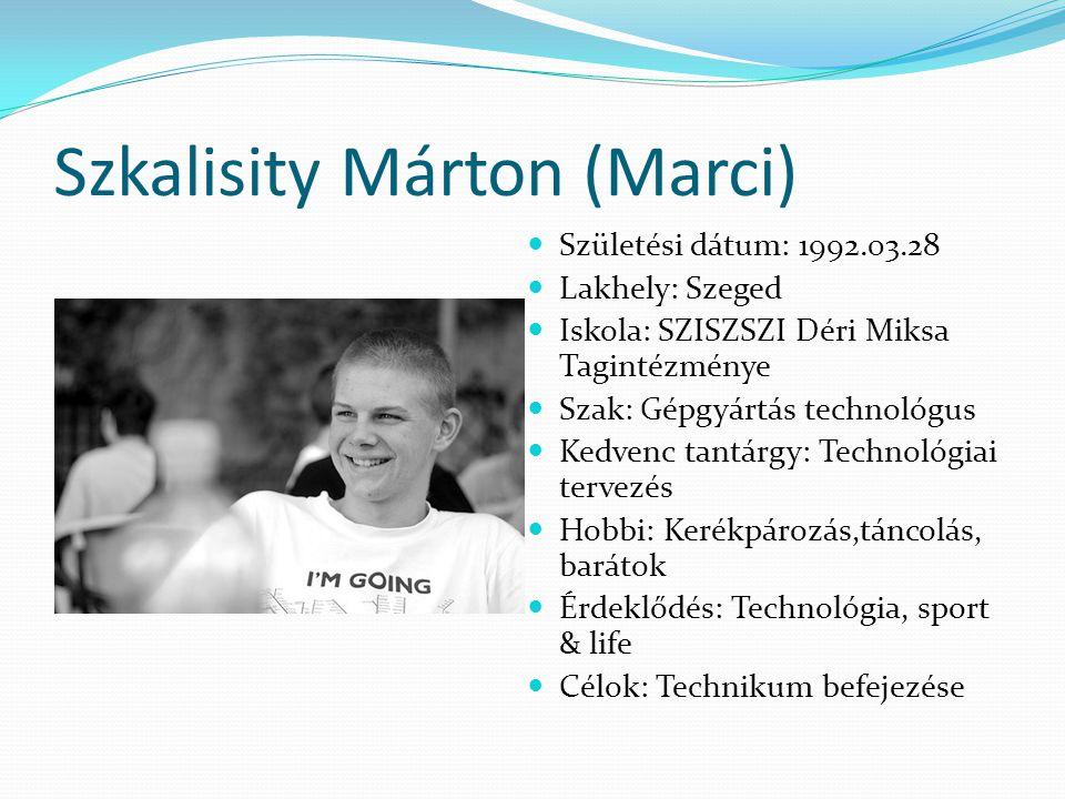 Szkalisity Márton (Marci)