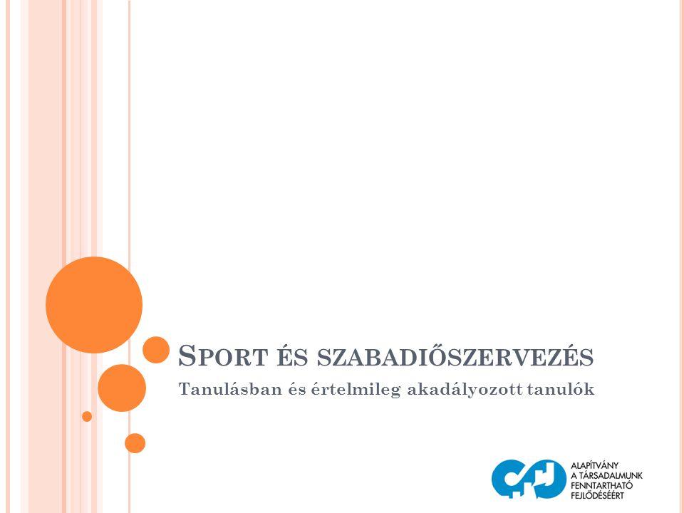 Sport és szabadiőszervezés