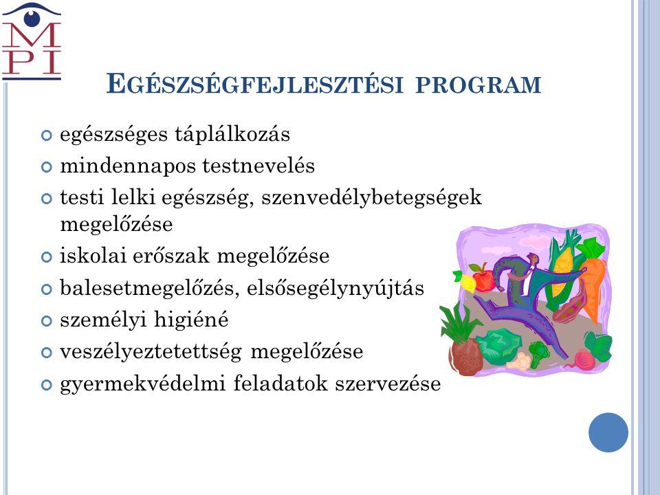 Egészségfejlesztési program