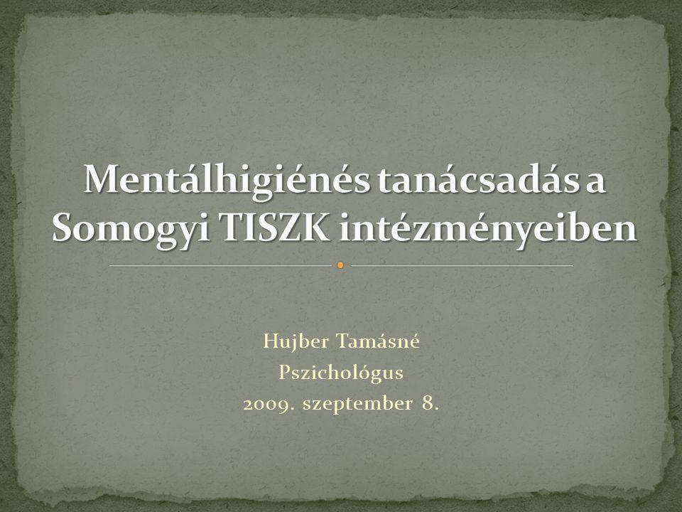 Mentálhigiénés tanácsadás a Somogyi TISZK intézményeiben