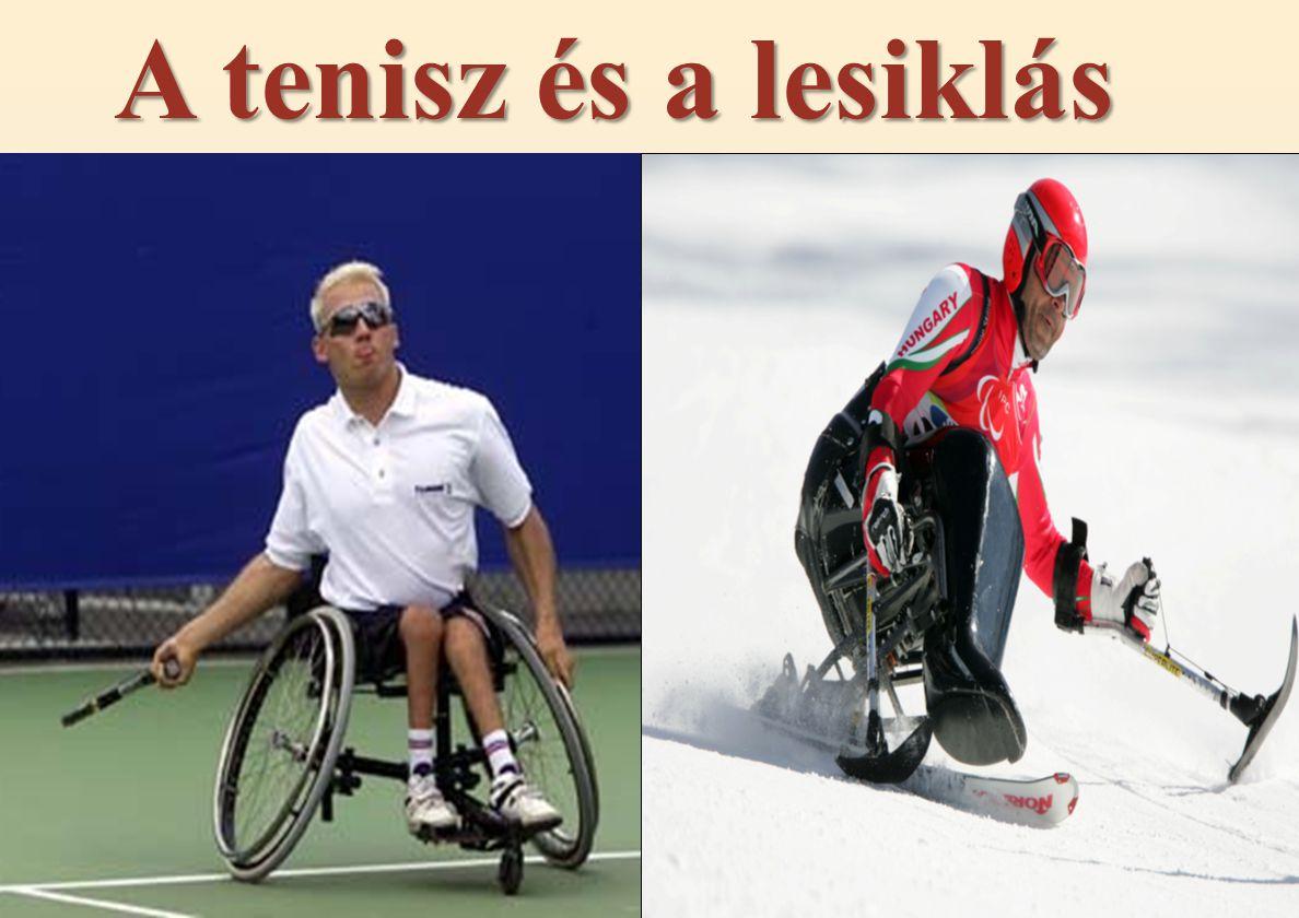 A tenisz és a lesiklás