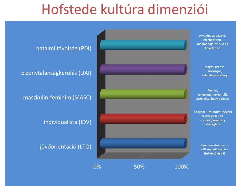 Hofstede kultúra dimenziói